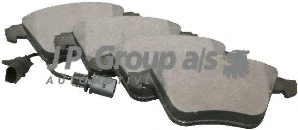 JP GROUP AUDI Тормозные колодки перед. A6/S6  2,5-4,2  97- (с датч.) JPGROUP 1163602610