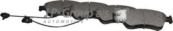 JP GROUP  VW Тормозные колодки передн.A6/8,Phaeton 02- JPGROUP 1163607710
