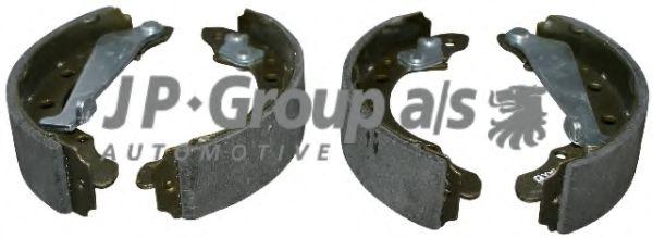 Гальмiвнi колодки к-т JPGROUP 1163900210