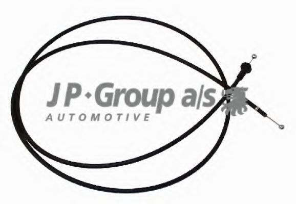 JP GROUP VW Трос замка капота Golf,Jetta,Seat Toledo JPGROUP 1170700200