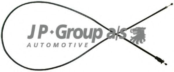 JP GROUP VW Трос замка капота Passat 96-,Skoda SuperB 01- JPGROUP 1170700800