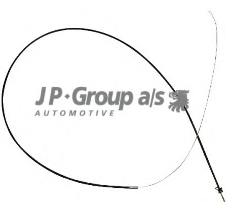 JP GROUP AUDI Трос (упак.Gemo!) замка капота 100 86- JPGROUP 1170700900