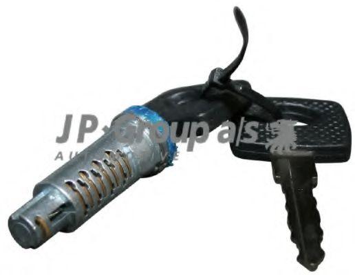 JP GROUP VW Вкладыш замока + ключ  Actros,Sprinter,Vito,LT28-46 JPGROUP 1187502500