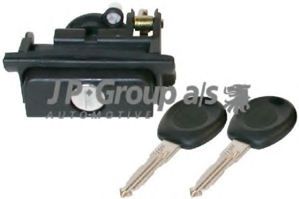 JP GROUP VW Замок багажника(с ключами) Golf 91-,Polo 94- JPGROUP 1187700800