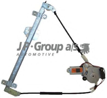 JP GROUP VW Стеклоподьемник с электромотором! передн.прав.Golf,Jetta 87-91 JPGROUP 1188100680