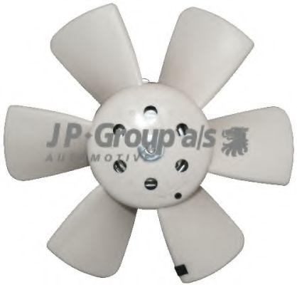 JP GROUP VW Вентилятор радиатора 100W,280мм Golf,Passat,Audi 80 JPGROUP 1199100300
