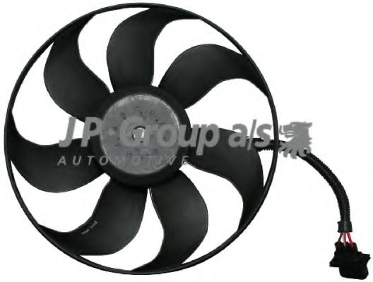 JP GROUP VW Вентилятор радиатора 300 60W 345mm Bora,Golf 98-;Seat,Audi JPGROUP 1199101500