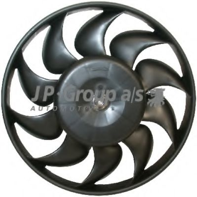 JP GROUP AUDI Вентилятор охлаждения 300W 280mm 100,A6 JPGROUP 1199102700