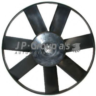 JP GROUP VW Вентилятор охлаждения двигателя 200-60W 345mm Polo,Sharan,Seat JPGROUP 1199103400