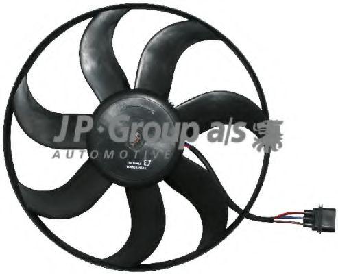 JP GROUP VW Вентилятор охлаждения двигателя 300W 392mm Polo,Skoda Fabia,Seat JPGROUP 1199103500