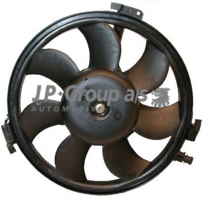 JP GROUP AUDI Вентилятор радиатора 300W,280мм A4/6/8 94- JPGROUP 1199105000