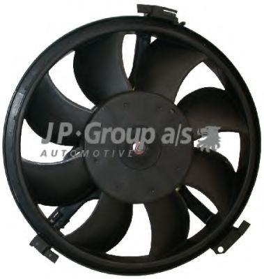 JP GROUP VW Вентилятор радиатора 300W,280мм Passat,Audi A4 JPGROUP 1199105100