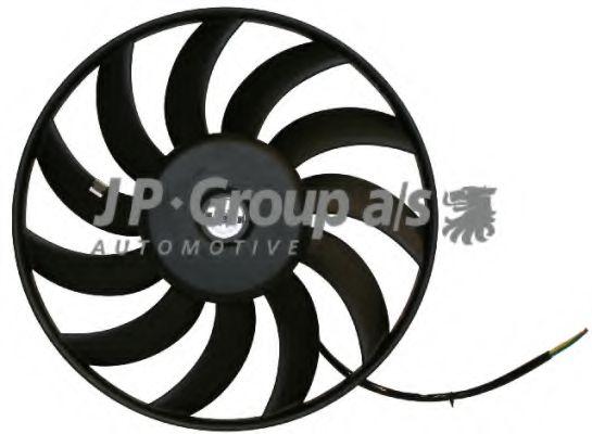JP GROUP AUDI Вентилятор радиатора 320W,400мм A4/6 95- JPGROUP 1199106470