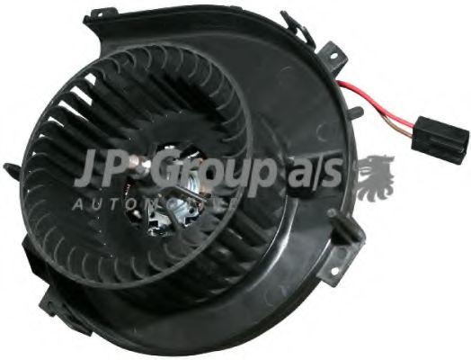 JP GROUP OPEL Двигатель вентилятора печки Combo,Corsa C 00- JPGROUP 1226100500