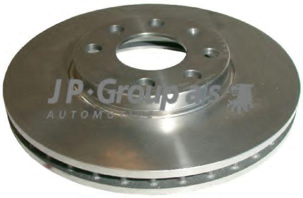 JP GROUP OPEL Диск тормозной вент. передний Astra G JPGROUP 1263102000