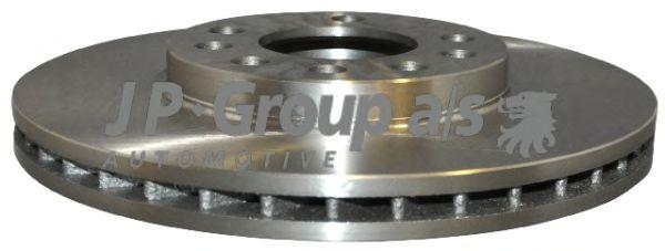 JP GROUP OPEL Диск тормозной передн.вент. Astra G/H,Meriva JPGROUP 1263102100