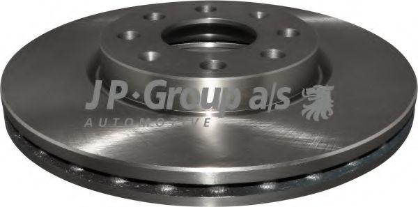 JP GROUP OPEL Тормозной диск передний Corsa D 06-, FIAT GRANDE PUNTO 05- JPGROUP 1263103600