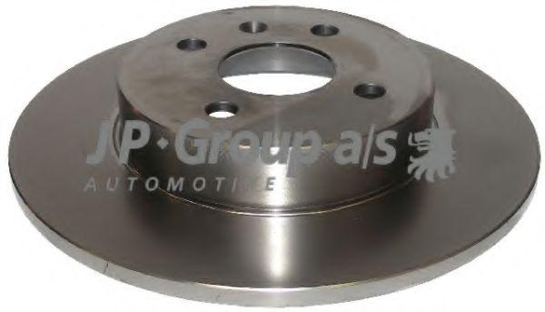 JP GROUP OPEL Тормозной диск задн. Astra H,Combo,Meriva JPGROUP 1263200700