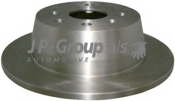 JP GROUP OPEL Диск тормозной задний Astra F 91-,Vectra A JPGROUP 1263200900