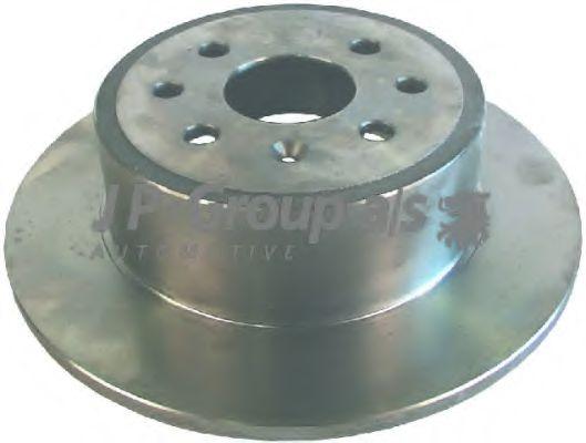 JP GROUP OPEL Диск тормозной задний Vectra B 95- JPGROUP 1263201100