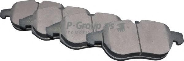 Комплект тормозных колодок, дисковый тормоз  арт. 1263603110