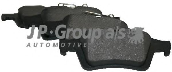 Комплект тормозных колодок, дисковый тормоз  арт. 1263700610