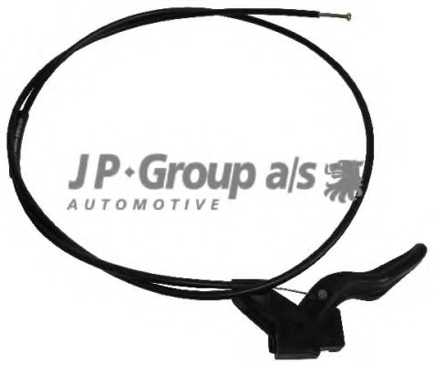 JP GROUP OPEL Трос капота Corsa B 93- JPGROUP 1270700200
