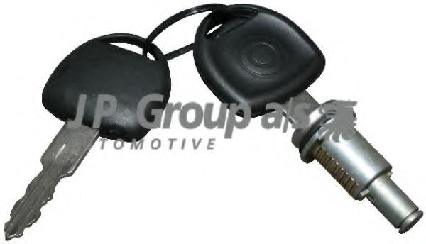 JP GROUP OPEL Замок двери с ключом Corsa B,Astra F/G,Combo,Meriva JPGROUP 1287500600