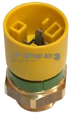JP GROUP OPEL Датчик включения вентилятора Astra F,Kadett E,Vectra A JPGROUP 1293200900