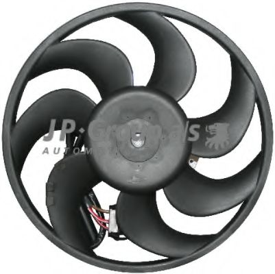 JP GROUP OPEL Вентилятор радиатора Vectra B JPGROUP 1299100300