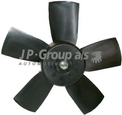 JP GROUP OPEL Вентилятор охлаждения Astra F Vectra A 90- JPGROUP 1299100700