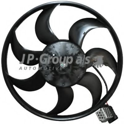 JP GROUP OPEL Вентилятор охлаждения Astra G JPGROUP 1299101000