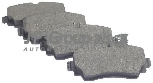 JP GROUP DB Тормозные колодки перед. A-klasse W168 97-04, Vaneo JPGROUP 1363601210