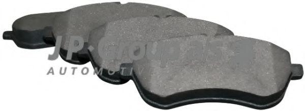 JP GROUP DB Тормозные колодки передн..W204 07- JPGROUP 1363601310