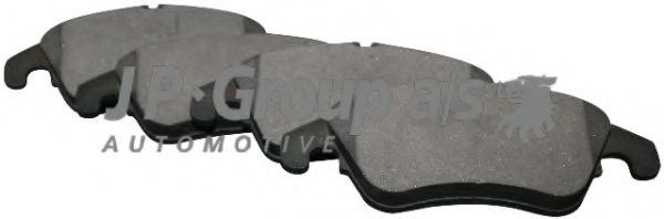 JP GROUP DB Тормозные колодки пер. DB E W212,W204 07- JPGROUP 1363601410