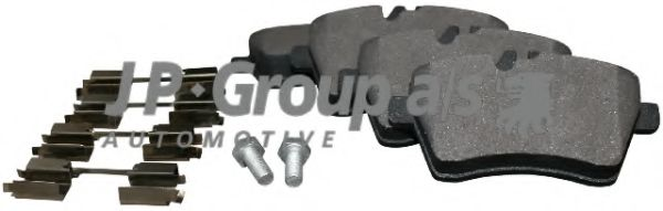JP GROUP DB Тормозные колодки передн.W169 04- JPGROUP 1363601510