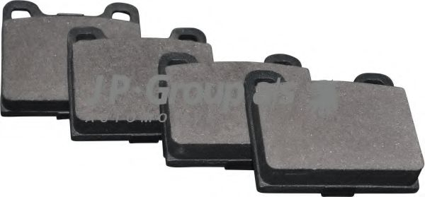 JP GROUP DB Тормозные колодки задн. DB W123/126 VOLVO 240/740/850 JPGROUP 1363700310