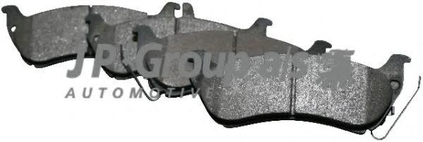 JP GROUP DB Тормозные колодки дисковые задн.ML W163 98- JPGROUP 1363701110