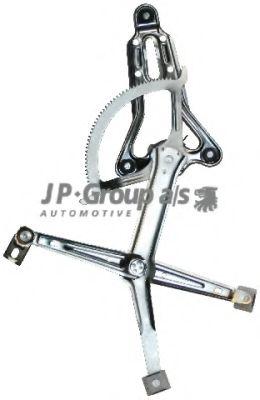 JP GROUP DB Электроподъемник бокового передн.лев.стекла (без электромотора) W124 JPGROUP 1388100170