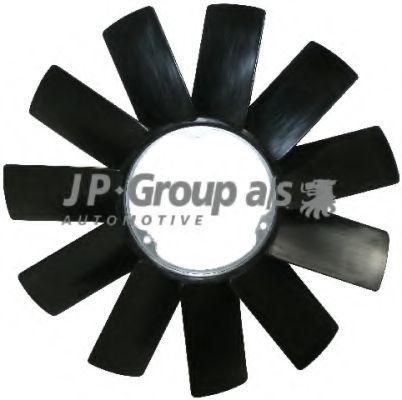 JP GROUP BMW Крыльчатка вентилятора 11-лопастная D=420мм 3/5/7серия/X5/Z3 JPGROUP 1414900800