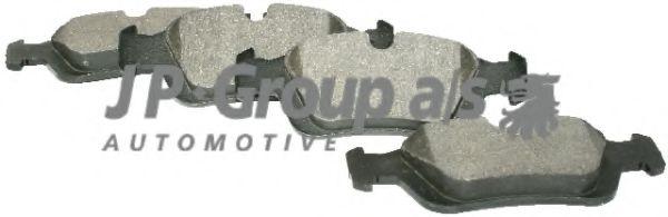 Комплект тормозных колодок, дисковый тормоз  арт. 1463600610
