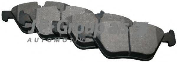 JP GROUP BMW Тормозные колодки дисковые 5 E60 03- JPGROUP 1463601610