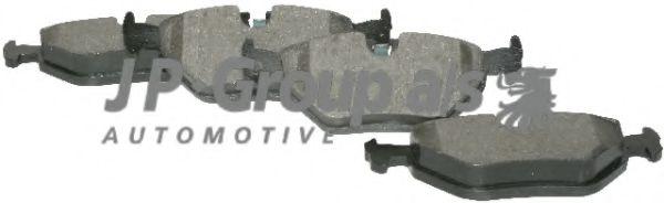 Комплект тормозных колодок, дисковый тормоз  арт. 1463700210