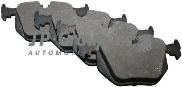 Комплект тормозных колодок, дисковый тормоз  арт. 1463700910
