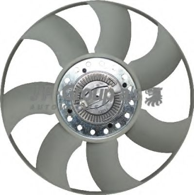 JP GROUP FORD Вентилятор радиатора Transit 2.2/2.4TDCi 06- JPGROUP 1514900100