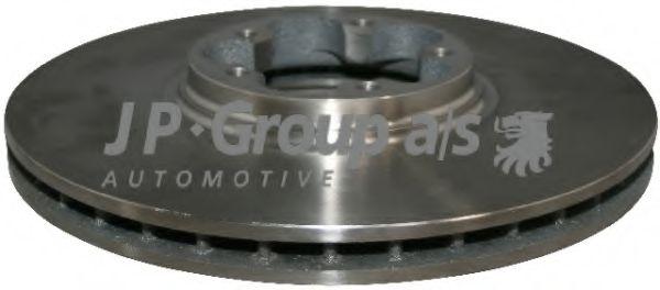 JP GROUP FORD Диск тормозной передний Transit 00- JPGROUP 1563100700