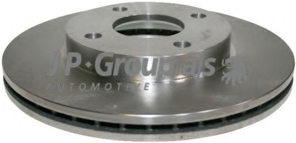 JP GROUP FORD Диск тормозной передний Fiesta 01-,Focus 98- JPGROUP 1563101400