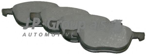 Комплект тормозных колодок, дисковый тормоз  арт. 1563600110