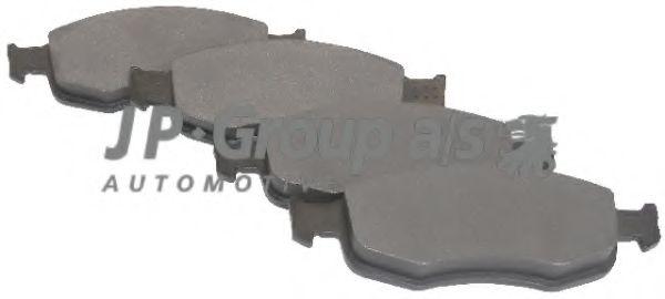 Комплект тормозных колодок, дисковый тормоз  арт. 1563600310