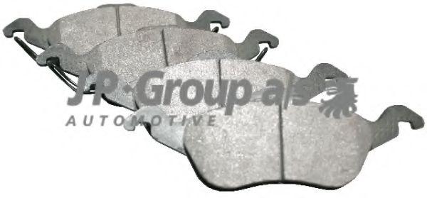 JP GROUP FORD Тормозные колодки передн.Focus 98- JPGROUP 1563600910